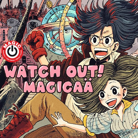 WATCH OUT! MAGICAÄ/2021年MAGIC漫画賞
